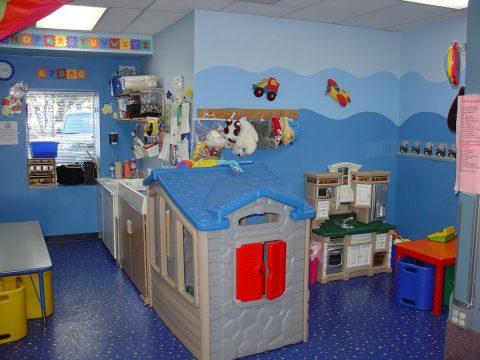 Les sols des chambres enfants
