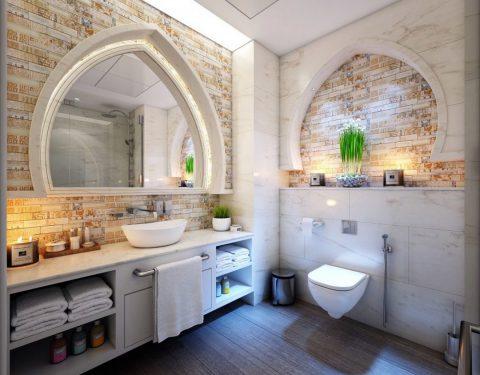 Les sols de salle de bains